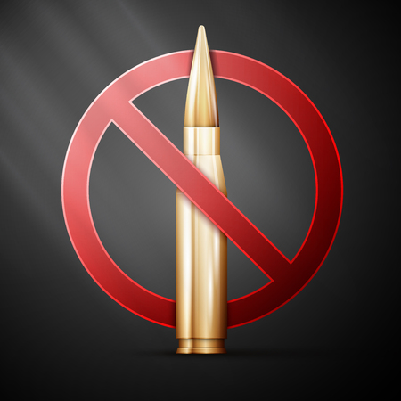 no nuclear: Anti-war poster. Themed background. Vector illustration,