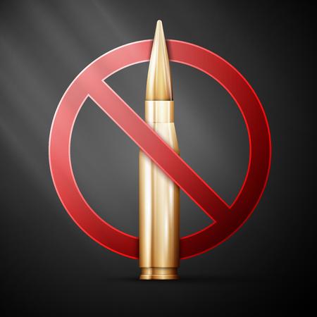 anti war: Anti-war poster. Themed background. Vector illustration,