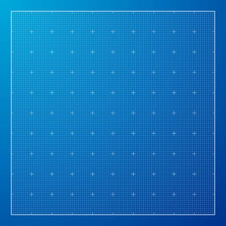 grid paper: Blue Graph grid paper background, excellent vector illustration, EPS 10