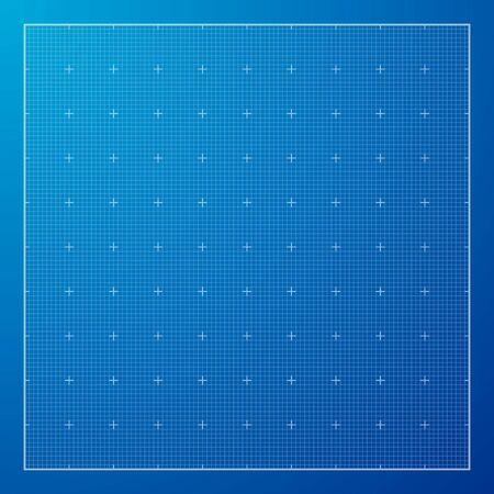 Blue Graph grid paper background, excellent vector illustration, EPS 10