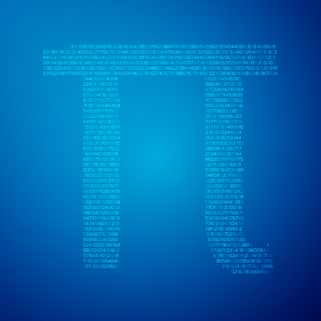 pi: Pi day poster,Blue Graph grid paper background