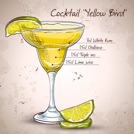 sec: Yellow Bird is a cocktail that contains rum, Galliano, triple sec and freshly squeezed lime juice