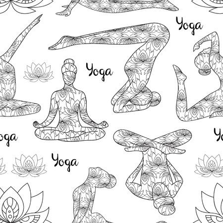 joga: Yoga silhouette pattern. Yoga silhouette icons. Yoga silhouette art. Yoga silhouette web. Yoga silhouette vector. Yoga icons. Yoga icons vector. Yoga icons art. Yoga icons web. Yoga icons shape