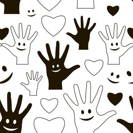friendship day: Happy Friendship day pattern. Usable as friendship day greeting cards, posters. Best friends forever.