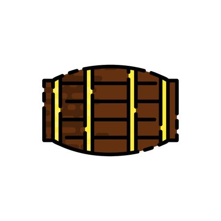uncork: Wine flat icon for your design. Wine tasting. Vector illustration