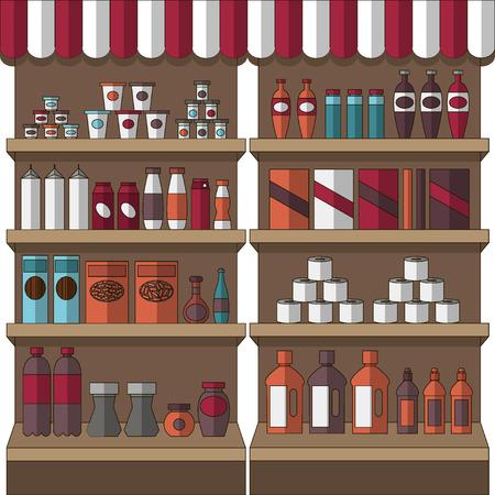 tincan: Big set of store products
