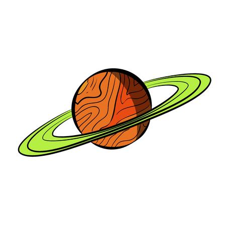 Color Sketch Saturn