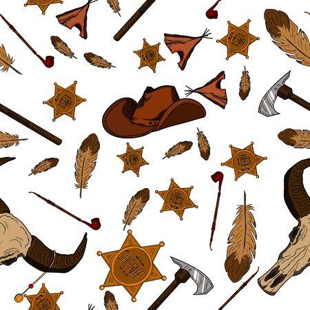 American Tribal Native Symbols