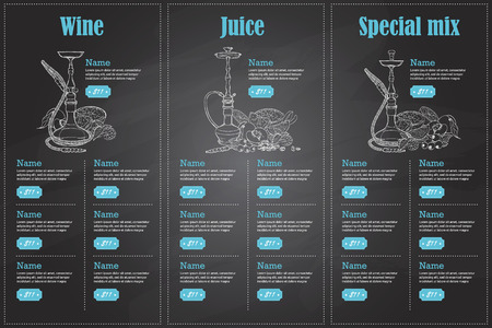 color menu design