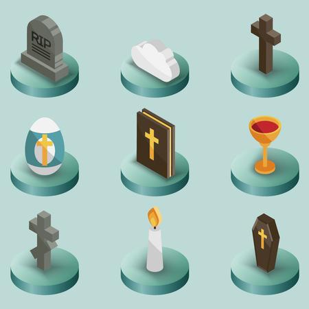 Religion related icon.