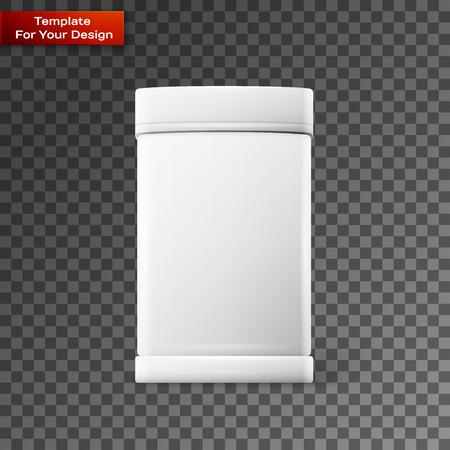 White square On transparent Background. Vector illustration, EPS 10 Illustration