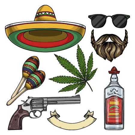 Mexican sketch set