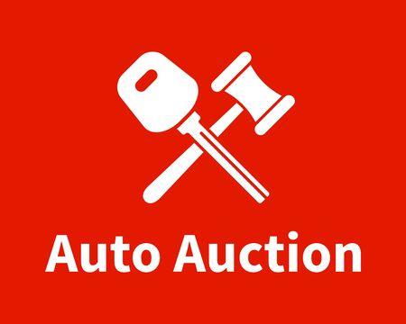 Car Auction Logo Design