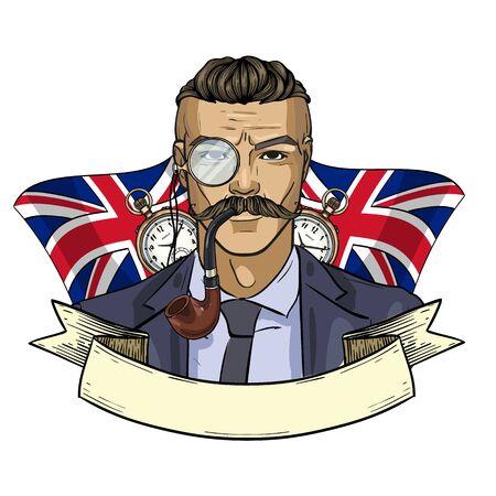 Sketch british man