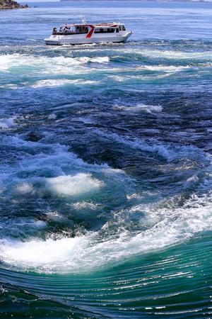 pacific ocean: Naruto whirlpools in Pacific ocean, Osaka, Japan