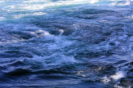 Naruto whirlpools in Pacific ocean, Osaka, Japan