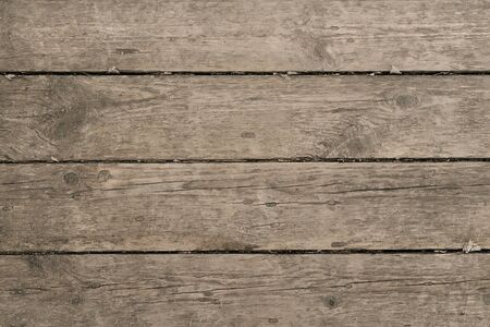 old wooden background for your design. Wooden table or floor, parallel boards Imagens