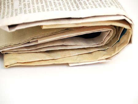 newspaper #4 Stock Photo - 761580