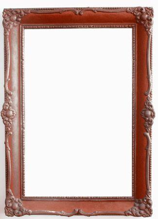a frill: antique frame #4