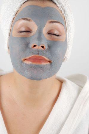 cremas faciales: m�scara #16 de la belleza