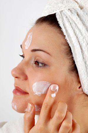 applying cream #11 Stock Photo - 824960