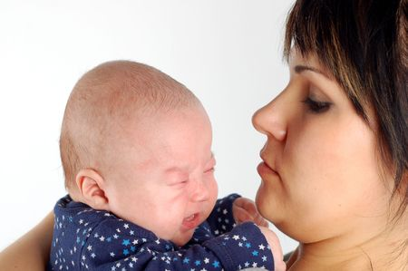 mother holding baby #12 Stock Photo - 939506