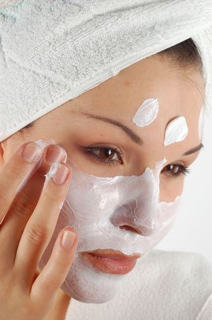 cremas faciales: Belleza m�scara # 16