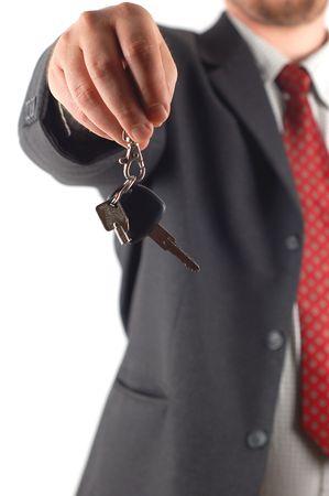 car key Standard-Bild