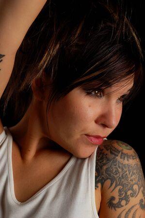 tatoo woman Stock Photo - 1517848