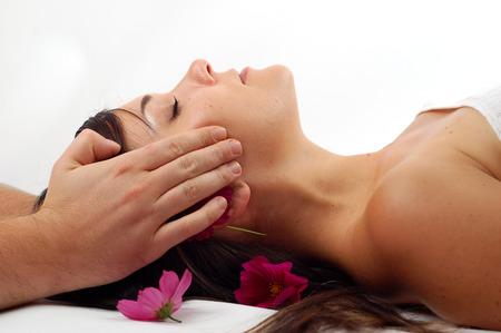 aromas: spa salon Stock Photo