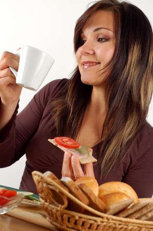 breakfast #8 Standard-Bild
