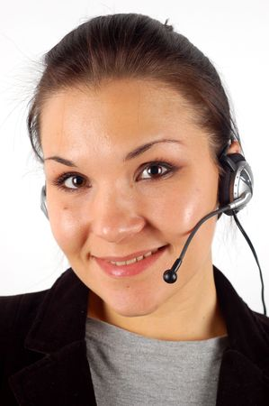 friendly operator #11 Stock Photo - 2072489