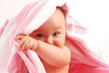 baby towel: Beb� tras el ba�o # 11