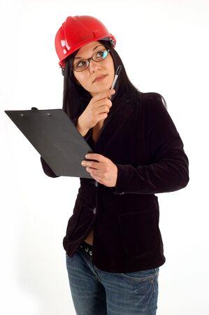 female architect Stock Photo - 2646415