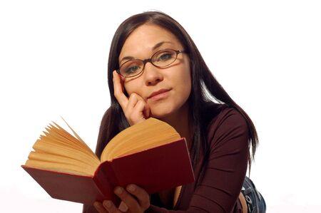 reading book Stock Photo - 2926920