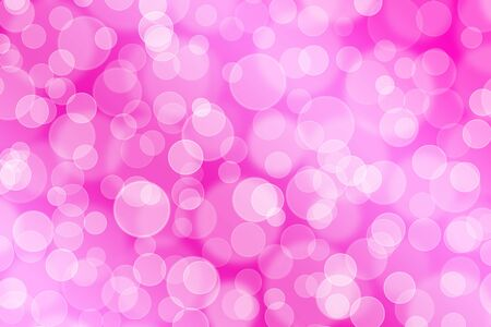 Abstract background with pink bubbles 版權商用圖片