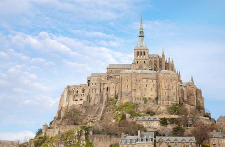 Le Mont Saint Michel, Normandie, France photo