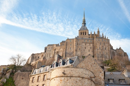 Le Mont Saint Michel, Normandie, France photo