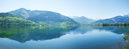 zell am see: Zell lake in Zell Am See, Austria