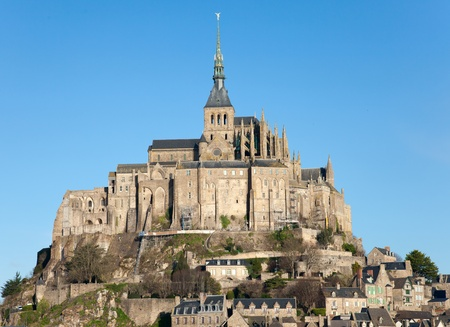 Le Mont Saint Michel, Normandy, France  photo