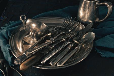 古代の銀食器