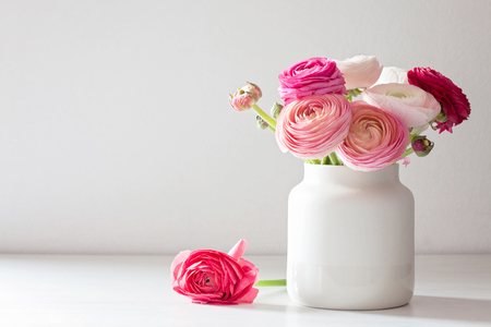 Bouquet of pink and white ranunculus flowers stock photo picture bouquet of pink and white ranunculus flowers stock photo 99064756 mightylinksfo
