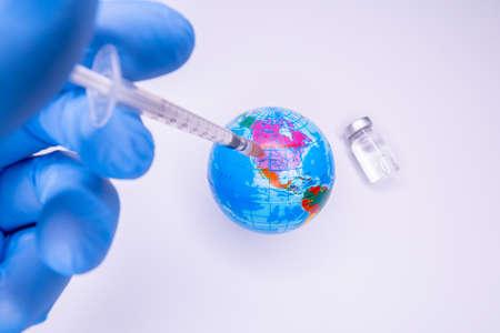 virus outbreak. Epidemic virus protection concept. Standard-Bild