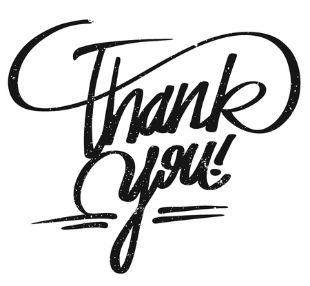 typo: Thank you lettering Pencil Typo, Hand drawn Calligrphy Greeting Card Concept