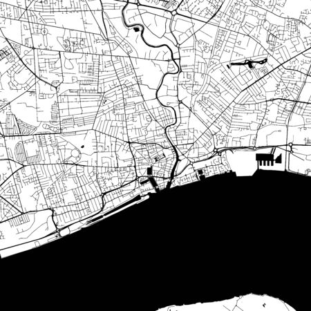다양한 사용 사례에 대한 많은 세부 정보가 포함 된 Kingston upon Hull 시내지도. 이 Kingston upon Hull지도에는 추가 정보를위한 공간이있는 일반적인 랜드 마