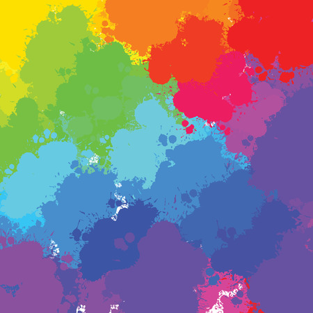 colorful splashes background. vector design for print decoration. CMYK color space.