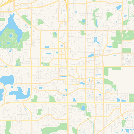 Empty vector map of Apple Valley, Minnesota, United States of..