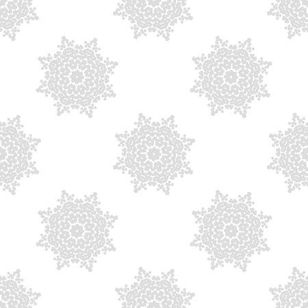 openwork: vector light gray seamless pattern of openwork stars