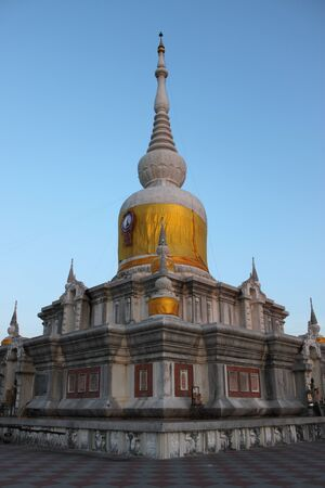 Stupa , North-East of Thailand photo
