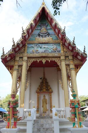 temple, Borabue, Mahasarakam, North-East of Thailand photo
